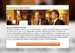 De BrancheBarometer Hotels is uit