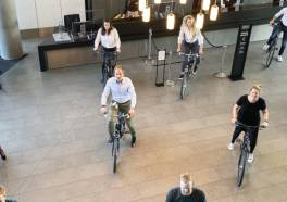 DoubleTree by Hilton Amsterdam Centraal Station wordt fietspad