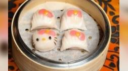 Hello Kitty restaurant opent in China