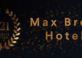 Max Brown Hotels winnaar 'Hotel Website of the Year 2021'