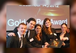 NHTV reikt Golden Bell awards uit