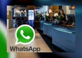 Radisson Blu Amsterdam Airport start WhatsApp-service