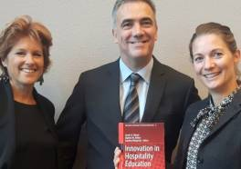Research Centre Hotelschool The Hague lanceert boek 'Innovation in Hospitality Education'