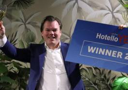 Venlose hotelier Gijs Hendrikx is Hotello of the Year 2021
