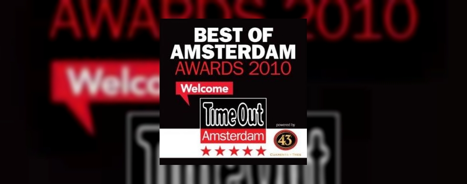 Best of Amsterdam awards uitgereikt<