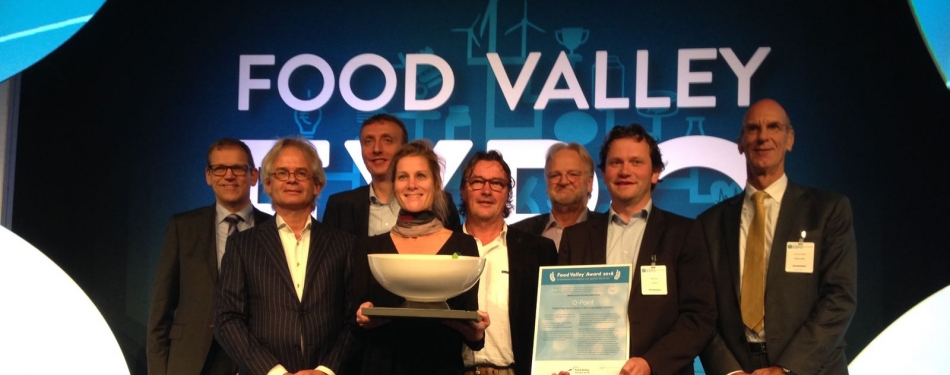 Q-Point wint de Food Valley Award 2016<
