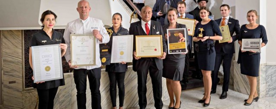 Recordaantal awards voor Sofitel Legend The Grand Amsterdam in 2017<