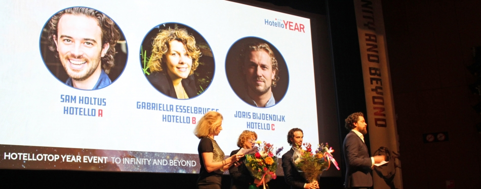 Sam Holtus (HTH'11) verkozen tot Hotello of the Year 2018