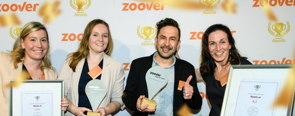 Hotels.nl wint Zoover awards<