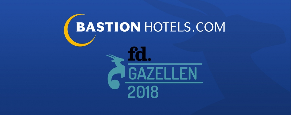 Bastion Hotels wint FD Gazellen Award 2018<