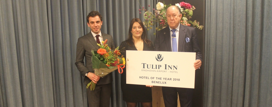 Golden Tulip Weert en Tulip Inn Eindhoven Airport winnaars Hotel of the Year 2018
