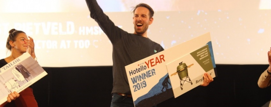 Joost Rietveld (HMSM '05) verkozen tot Hotello of the Year 2019