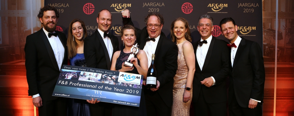 Lieke Weerdenburg F&B Professional of the Year 2019