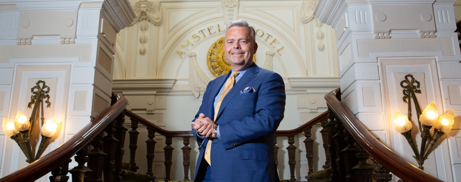 "Jan-Paul Kroese, Amstel Hotel: ""De concurrentie is heviger dan toen"""