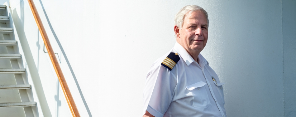 Interview: Hans van Welzen is hotelmanager op een cruiseschip