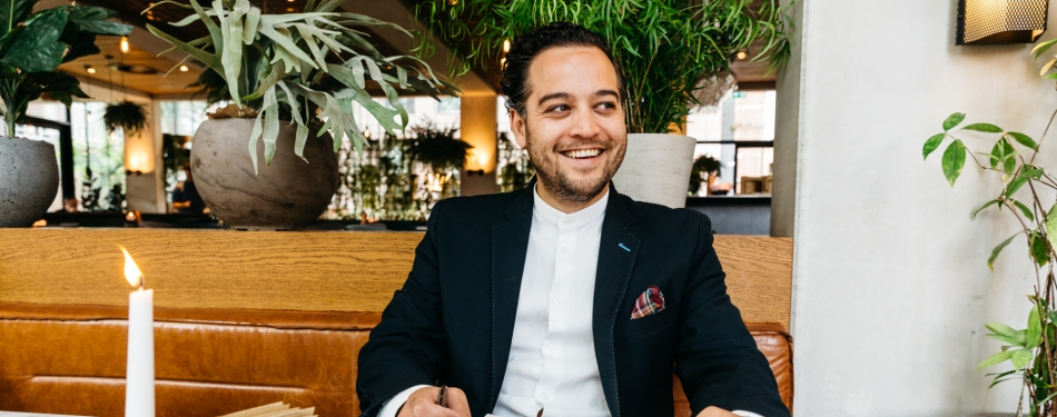 Portret: F&B Manager Luuk Rijnders