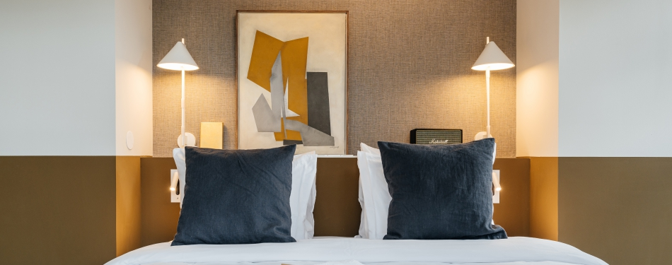 The Hunfeld: On-Utrechts hip Boutiquehotel<