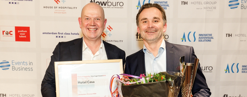 House of Hospitality-awards uitgereikt<
