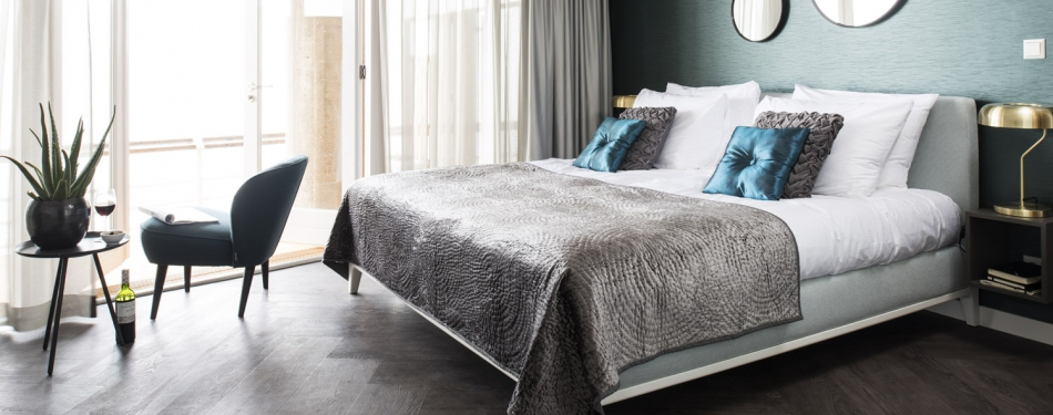 Auping Criade boxspring populaire keuze voor hotels