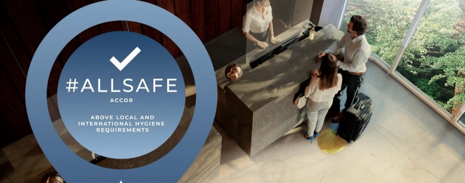 Accor implementeert met succes ALLSAFE in al zijn hotels en resorts