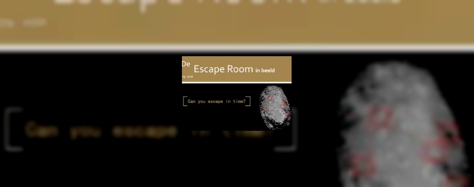 Escape rooms de trend in leisure-land<